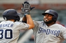 Reyes, Hosmer to lift Padres over Braves