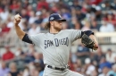 Braves bats held quiet as Padres win 4-3