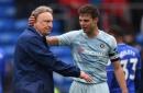 Chelsea star Cesar Azpilicueta jokes about paying Cardiff City boss Neil Warnock's £20,000 FA fine