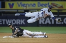 Detroit Tigers' Josh Harrison gets all-clear from MRI, but diving lands him on IL