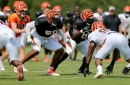 Which position groups have the most competition on the Bengals roster?