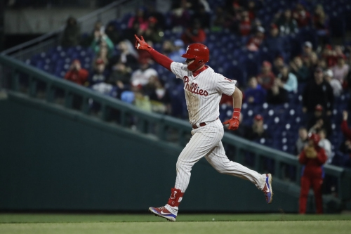 Want to walk Bryce Harper? Rhys Hoskins will make Phillies' opponents pay