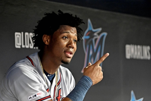 Ronald Acuña Jr, Josh Donaldson out of the Braves' lineup on Sunday