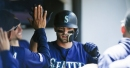 Mariners' offense finally breaks out of slump, hitting three homers to beat Indians 10-0