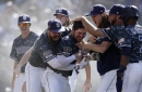 Padres beat Dodgers in walk-off fashion to close series