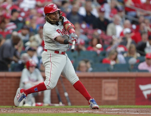 Harper's grand slam keys Phillies' 11-1 rout of Cardinals
