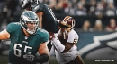Eagles' Lane Johnson ends beef with Zach Brown