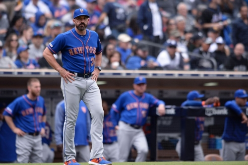 Mets fall to Padres 3-2 to lose game and series