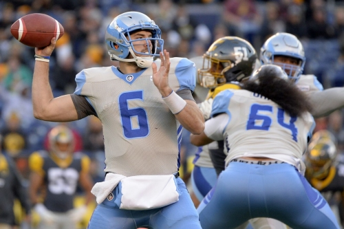 A look at Josh Woodrum, the QB signed by the Redskins from the AAF