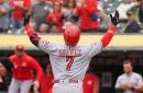 Eugenio Suárez, Derek Dietrich homer in Cincinnati Reds' win over Oakland Athletics