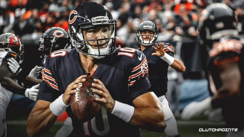 Bears QB Mitchell Trubisky excited about 'three-headed monster' in backfield