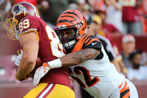 Bengals waive LB Brandon Bell; sign 3 college free agents