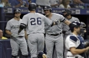 Rays' Cash on Yankees' plunking outrage: Chirinos 'obviously' wasn't trying to hit Voit in tied game Saturday.