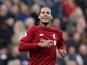 Virgil Van Dijk congratulates Man City on title victory