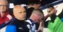 West Brom star Chris Brunt trolled by Aston Villa substitute Jonathan Kodjia after sending off