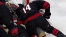 Justin Williams takes shot at David Backes during scrum
