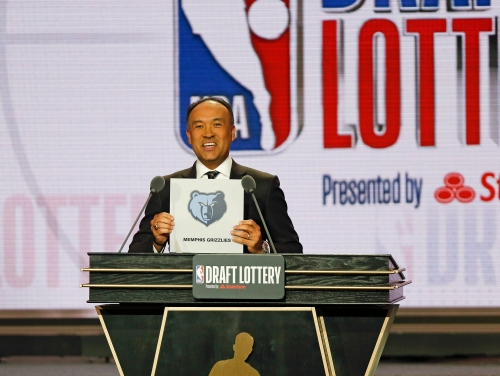NBA Draft Lottery: Memphis Grizzlies actually get lucky for a change