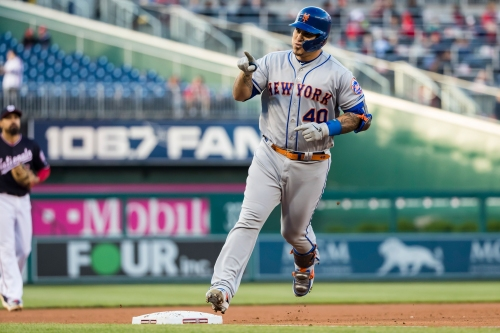 Wilson Ramos hits grand slam, Noah Syndergaard takes no-hitter into sixth in Mets win