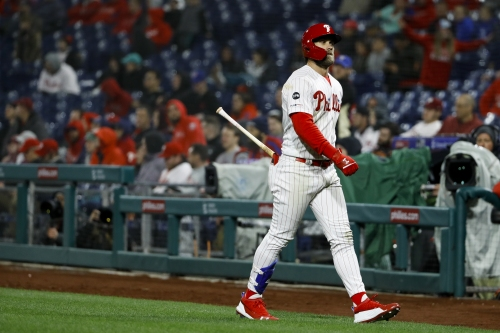 Analysis: Bryce Harper's numbers are trending down and there's real reason for concern