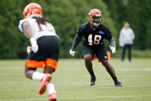 Cincinnati Bengals sign sixth-round pick Auburn linebacker Deshaun Davis