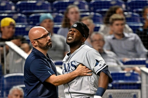 View from the Catwalk: Rays sweep, but several players get hurt