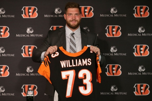 Bengals sign Jonah Williams and Drew Sample to rookie contracts