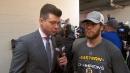 David Pastrnak praises play of Tuukka Rask in Bruins playoff run