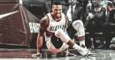 Damian Lillard's apparent rib injury for Blazers vs. Warriors