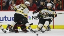 Bruins 'Perfection Line' dominant in sweep of Hurricanes