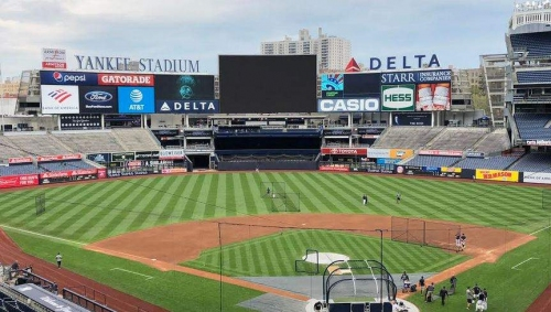 Rays at Yankees lineups, on a Friday with first place on the line