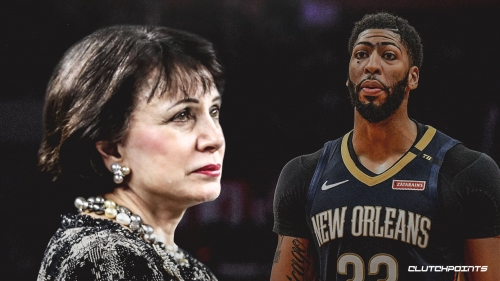 Pelicans owner Gayle Benson calls 'over my dead body' Anthony Davis trade rumor 'totally absurd' and 'completely untrue'