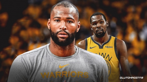 Warriors' DeMarcus Cousins ahead of Kevin Durant in return from injury