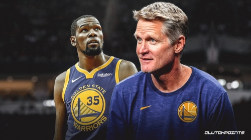 Warriors coach Steve Kerr says Kevin Durant essentially has no timetable to return