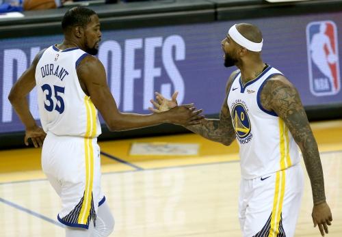 Steve Kerr provides clarity on Durant, Cousins rehabs