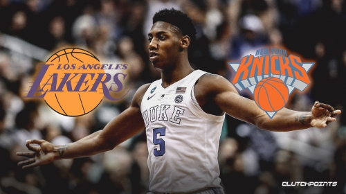 Report: RJ Barrett prefers Knicks or Lakers over Grizzlies