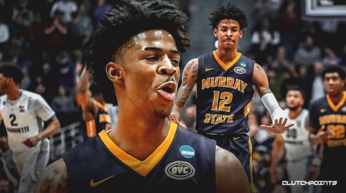Ja Morant says he'll be happy wherever he's drafted