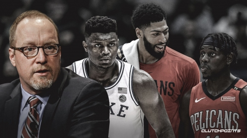 Pelicans GM David Griffin believes he can create Big 3 of Anthony Davis, Jrue Holiday and Zion Williamson