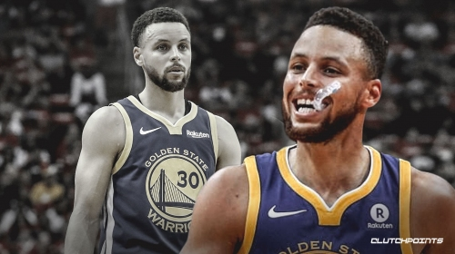 Warriors' Stephen Curry is 4th player in NBA playoff history to score at least 30 points in 3 straight games without missing a free throw