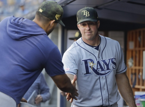 'Good call to get' makes veteran Erik Kratz the Rays' newest new catcher