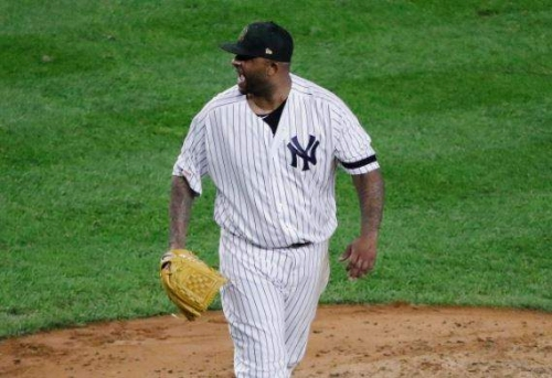 What Yankees lefty CC Sabathia was saying and doing in trying, unsuccessfully, to get revenge on Rays