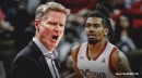Steve Kerr not giving up on Jacob Evans, admits it was 'tough' for the rookie to join a championship team