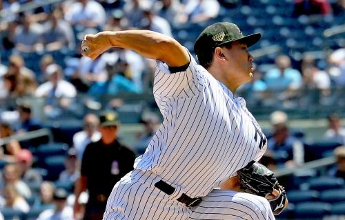 Yankees' starter Masahiro Tanaka exits game vs. Rays with right shin contusion