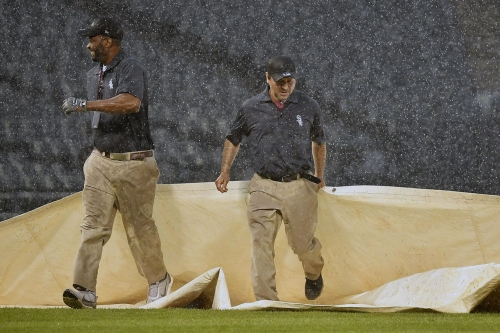 Jays lose a rain shortened game