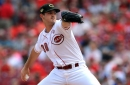 Tyler Mahle looks right at home in the Cincinnati Reds' 4-0 win over Los Angeles Dodgers