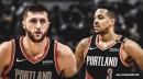 Blazers center Jusuf Nurkic rocks a Game of Thrones-inspired CJ McCollum jacket ahead of Game 3