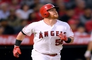 Kole Calhoun bunted for a hit, answering the cries of Angels fans