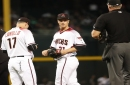 Zack Greinke all set for Tuesday start; David Peralta a late scratch vs. Giants