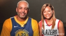 Dell and Sonya Curry's shirts rep both Warriors, Blazers in Game 3