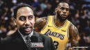 Stephen A. Smith says fears of LeBron James failing to recruit marquee free agents to Lakers are 'very real'