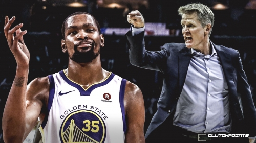 Rumor: Kevin Durant unhappy with Steve Kerr, fact that he will never be Warriors' centerpiece